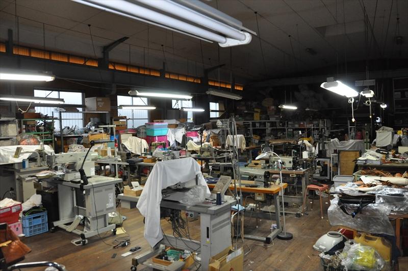 縫製工場内部